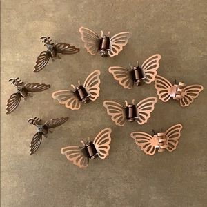 🦋20 Metal Butterfly Small Hair Clips
